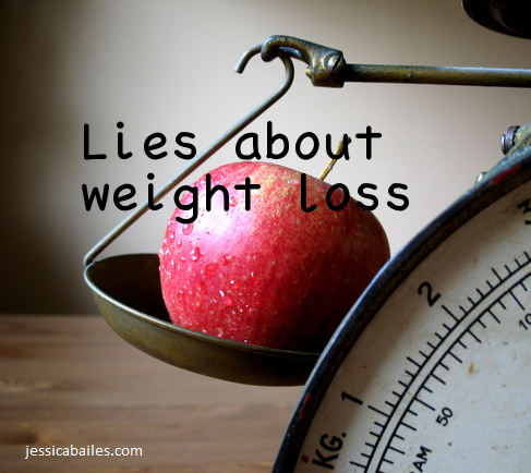 lies about weight loss